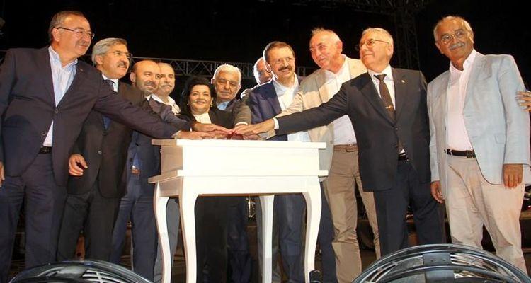 Muğla Babadağ teleferik projesinde temeller atıldı