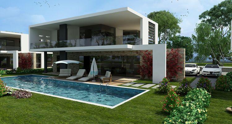 Myrina Evleri'ndeki villalar 890 bin TL'den başlıyor