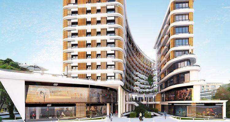 Novi Bazaar Gaziosmanpaşa, göz alıcı mimarisiyle yükseliyor