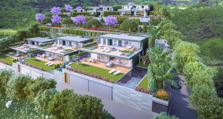 Oxa Gündoğan, dubleks ikiz villa tasarımıyla göz dolduruyor