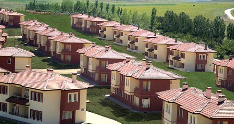 TOKİ modern köyler inşa ediyor