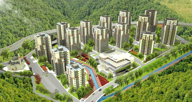 TOKİ'nin Trabzon ve Rize projeleri hız kesmeden sürüyor