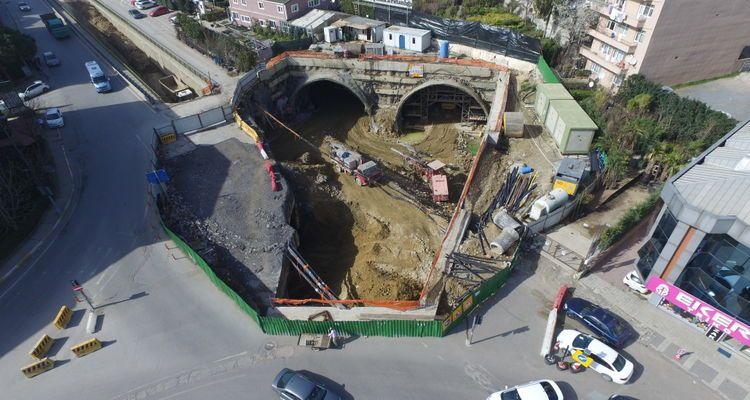 Üsküdar Altunizade Çamlıca Tepesi Ulaşım Yolları Projesi'nde izinler çıktı