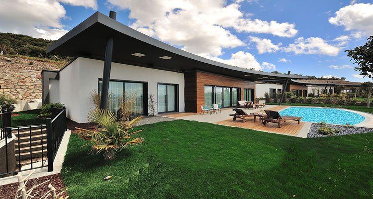 Theatron Bodrum Villaları'nın fiyatı 850 bin avrodan başlıyor