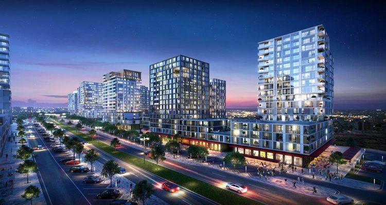 Strada Bahçeşehir projesi yüzde 5 peşinatla ev sahibi yapıyor