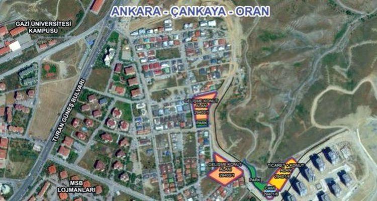 Emlak Konut Ankara Çankaya Oran ihalesi YP İnşaat'ın oldu