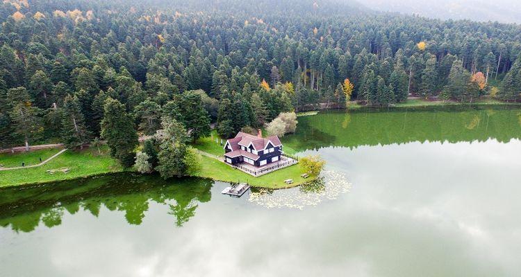 Bolu Gölcük Parkı'na köşk ve 25 bungalov inşa edilecek