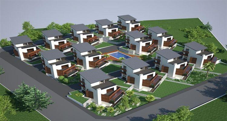 Neva Villaları lüksten vazgeçemeyenlerin yeni adresi olmaya aday