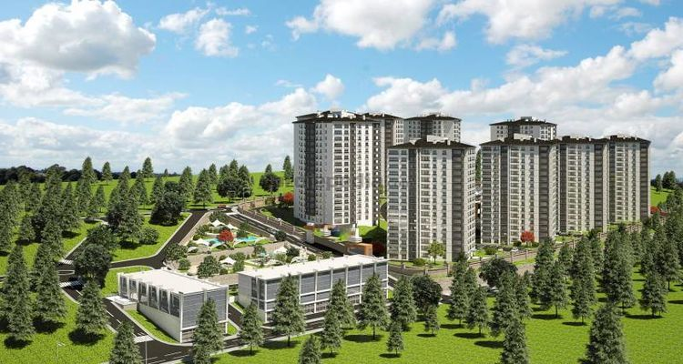 İnci Prime projesi Trabzon'da lüks site ortamı kuruyor