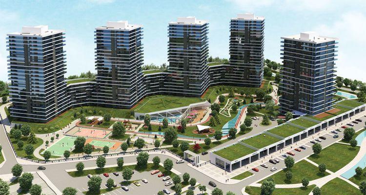 Akkent Paradise Gardens Residence 400 bin TL'den başlıyor