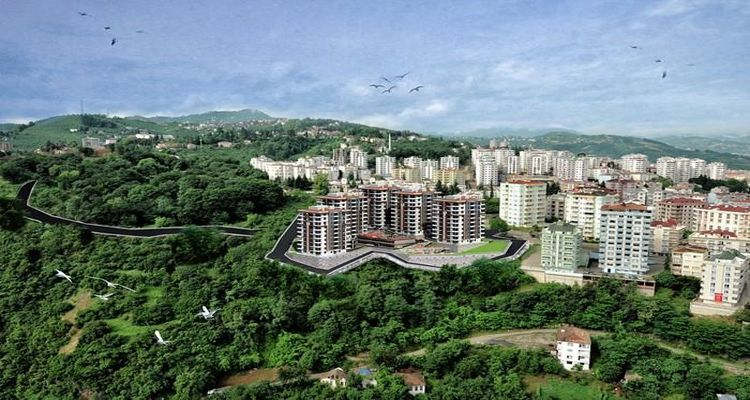 Usta Kent Trabzon'da yükseliyor