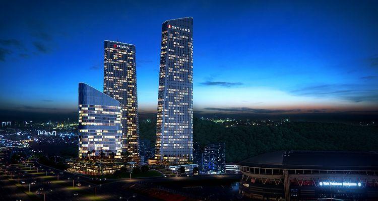 Skyland İstanbul'da hemen teslim konutların ödemeleri 2019'da