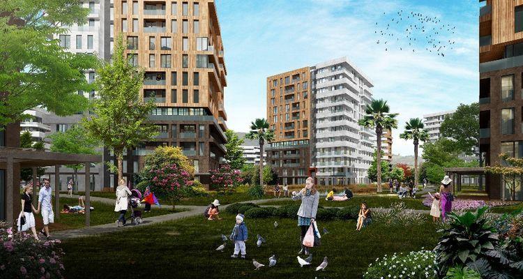 Sur Yapı Antalya Turkuaz konutları 107 bin TL'den  başlıyor