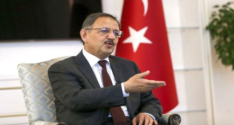 """""""15 yıl içerisinde Türkiye'yi yeniden imar ederiz''"""