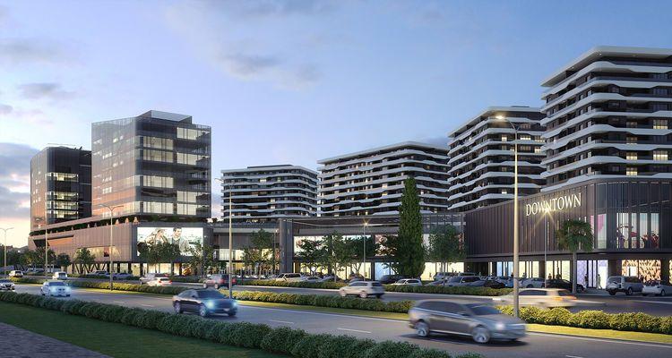 Downtown Bursa projesi Atış Yapı güvencesi ile yükseliyor