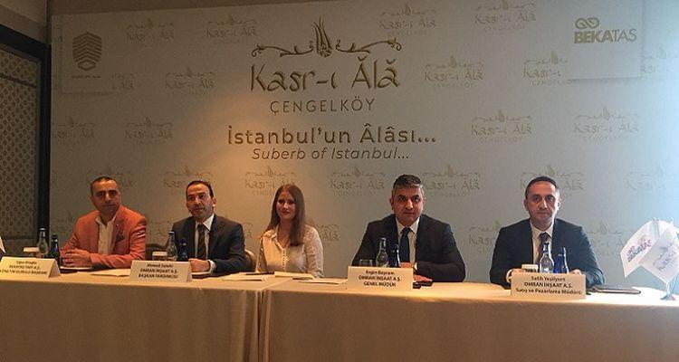 Kasr-ı Âlâ Çengelköy projesinin lansman toplantısı yapıldı