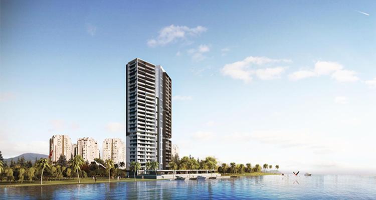 Portmarin Mavişehir projesi denize sıfır noktada rezidans hayatı sunuyor