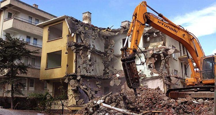2017'den sonra inşa edilen kaçak binalar yıkılacak