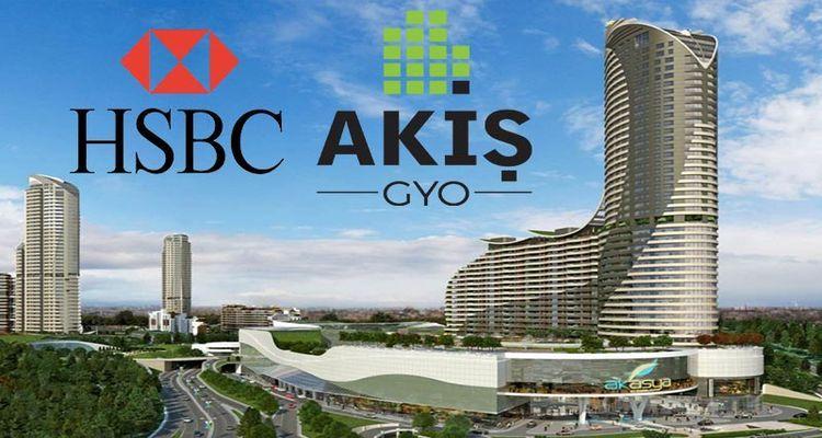 Akiş GYO HSBC ile 40 milyon dolarlık kredi anlaşması imzaladı