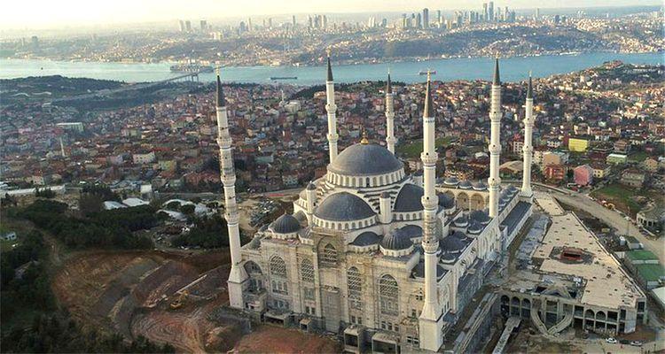 Çamlıca Camii'nin Yapımında Sona Gelindi
