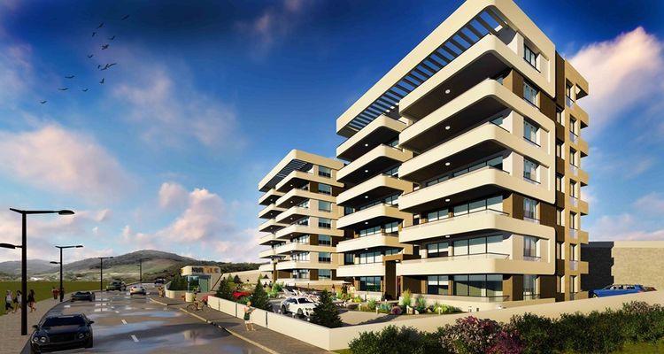Nuripek Residence Hasanağa projesi Nilüfer'de yükseliyor