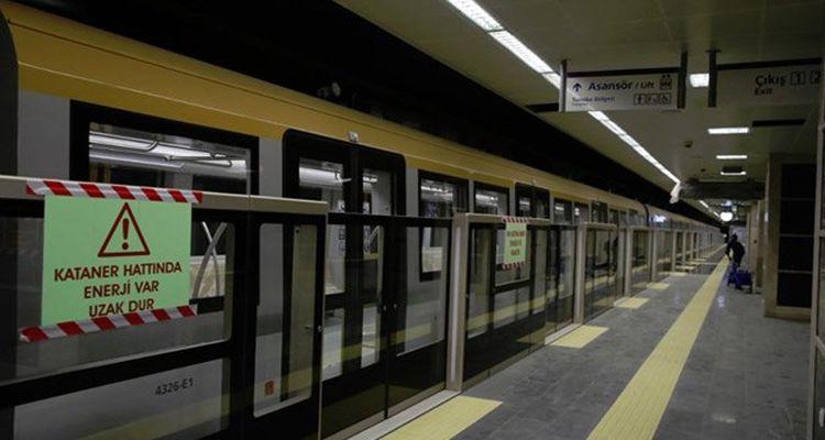 Yenikapı-Atatürk Havalimanı metro hattına iki yeni durak ekleniyor
