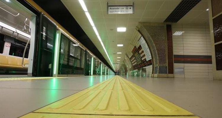 Çekmeköy – Yamanevler Metro Hattında çalışmalar tamamlandı