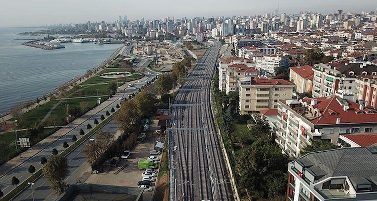 Halkalı-Gebze banliyö hattında 38 yeni durak olacak