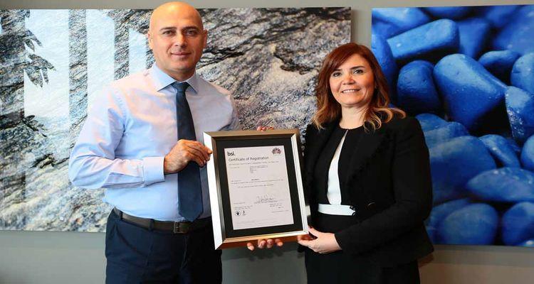 İnşaat sektöründe bir ilk: Folkart, ISO 45001 belgesi aldı