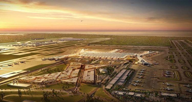 İstanbul Yeni Havalimanı'nda çalışmalar yüzde 97 oranında tamamlandı