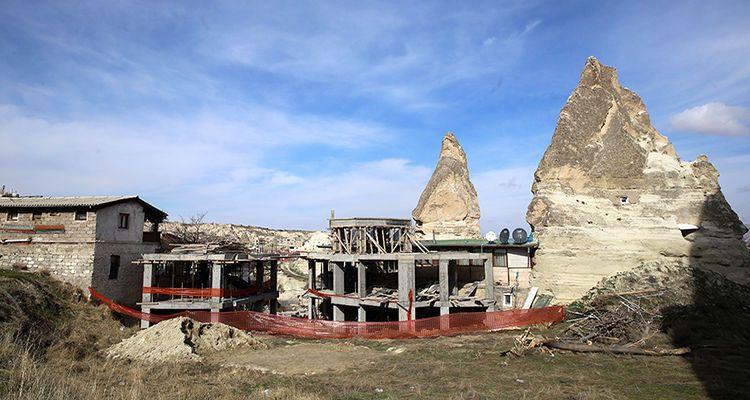 Kapadokya'da kaçak yapılaşmaya karşı yeni sistem