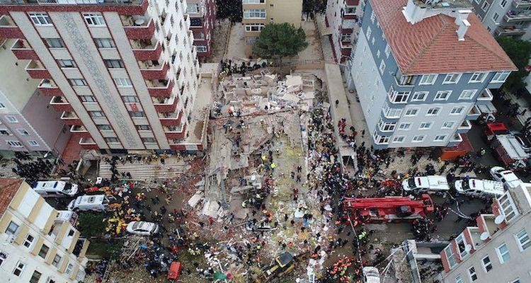 Kartal'da çöken binayla ilgili yürütülen soruşturma tamamlandı
