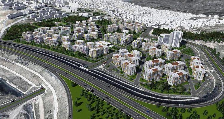 Kayseri Kocasinan dönüşüm projesinde 3 bin konutun temeli atıldı