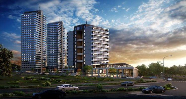 Keyvan Acrux Residence & Mall projesi Ankara'da yükseliyor