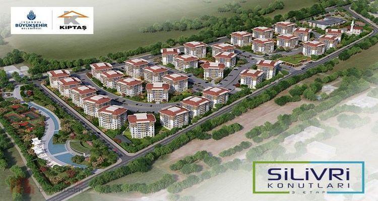 KİPTAŞ Silivri 4. Etapta inşaat çalışmaları yakında başlayacak