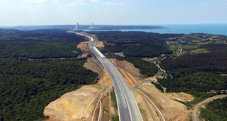 Kuzey Marmara Otoyolu güzergâhı değer kazanmaya devam ediyor