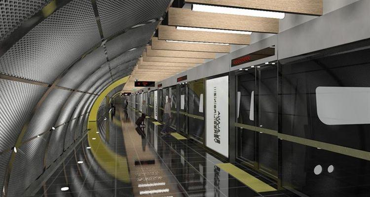 Mahmutbey-Mecidiyeköy metro hattı çalışmaları sürüyor