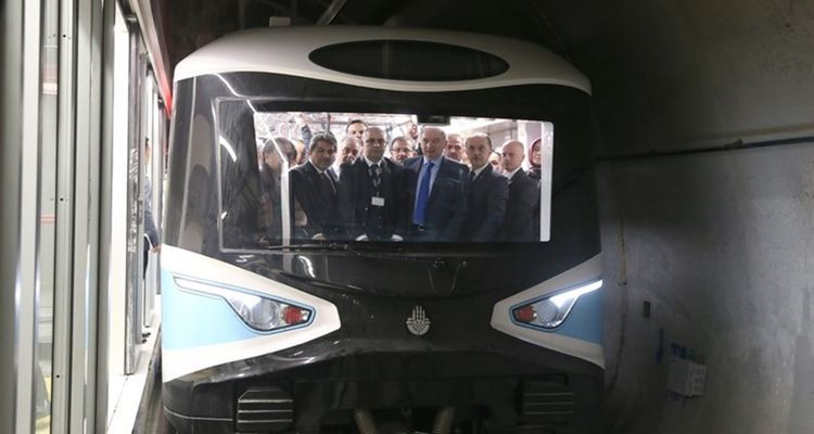 Mahmutbey-Mecidiyeköy metro hattında test sürüşleri başladı