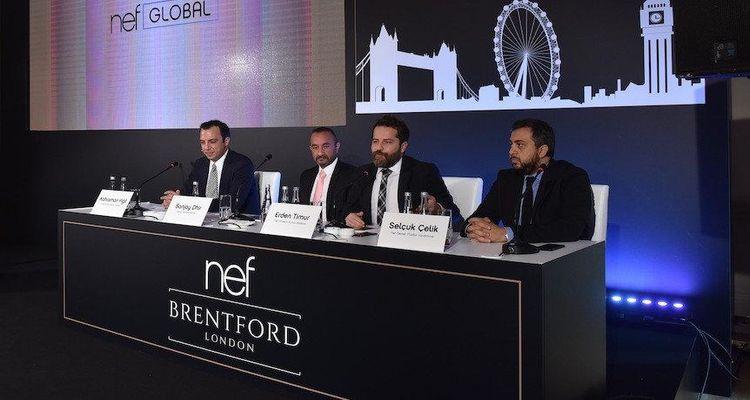 Nef Brentford Londra projesinin lansmanı yapıldı