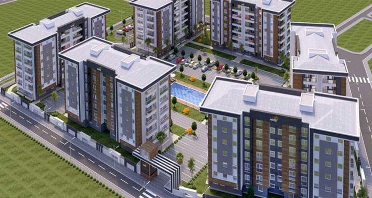 Note Yapı Antalya'da yeni bir konut projesi hayata geçirecek