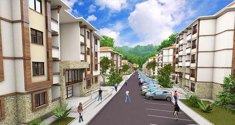 Sosyal konut projelerine başvurular 550 bini geçti