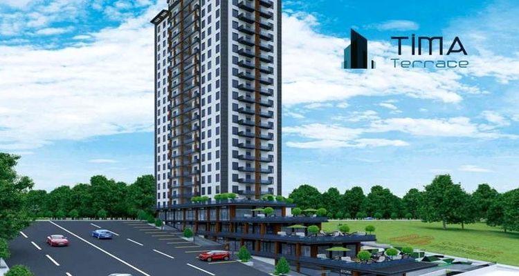 Tima Terrace projesinde fiyatlar 275 bin liradan başlıyor