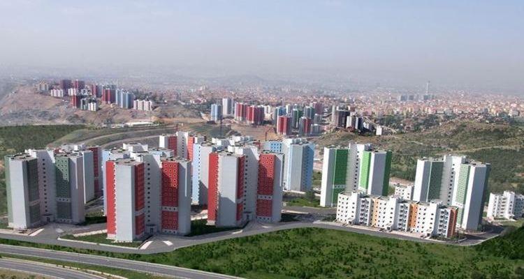 TOKİ Ankara Kuzeykent projesindeki 563 konut satışta