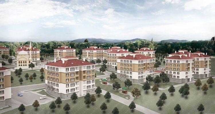 TOKİ Denizli'de 187 yeni konut inşa edecek