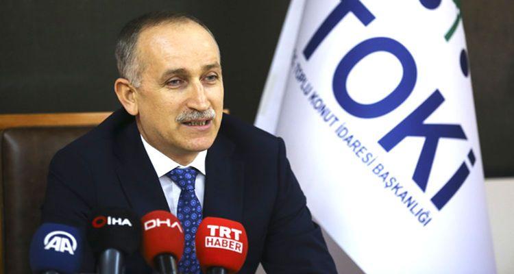 TOKİ'nin yeni başkanı resmen Ömer Bulut oldu