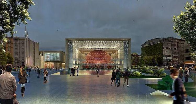Yeni Atatürk Kültür Merkezi Projesi Başlıyor