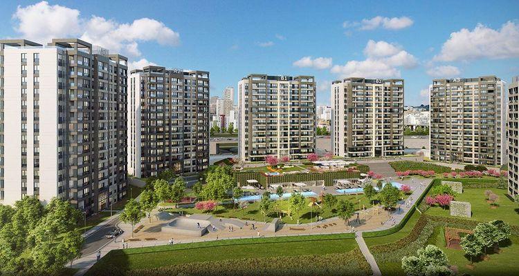 3. İstanbul Başakşehir Hasbahçe Evleri'nde satışlar başladı