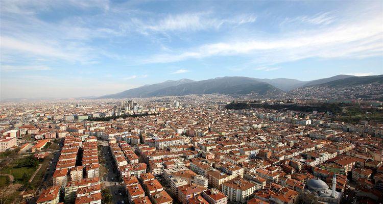 Bursa'da konut fiyatları değer kaybetti