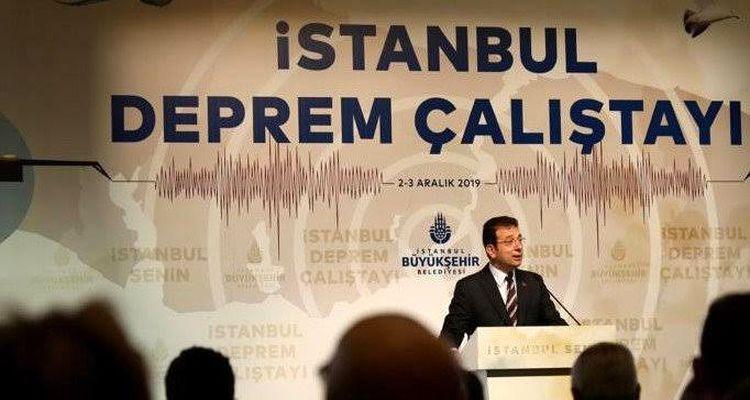 İstanbul Deprem Çalıştayı başladı