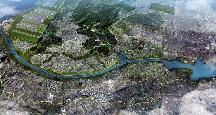 Kanal İstanbul bölgesinde akıllı şehirler kurulacak